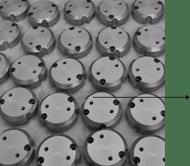 Anodizzazione minuteria in alluminio